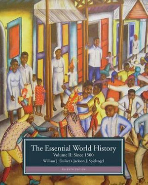 Cover of The Essential World History, Volume II: Since 1500