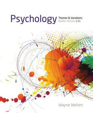 Cover of Psychology : Themes and Variations, Briefer Version