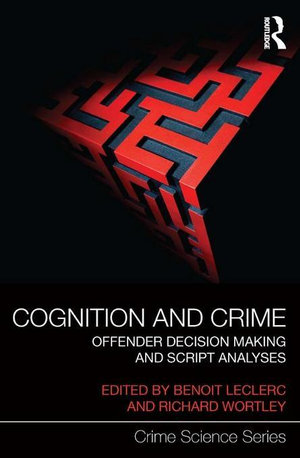 Cover of Cognition and Crime