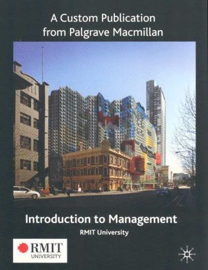Cover of Introduction to Management