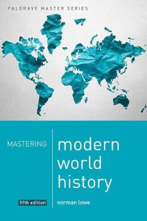 Cover of Mastering Modern World History