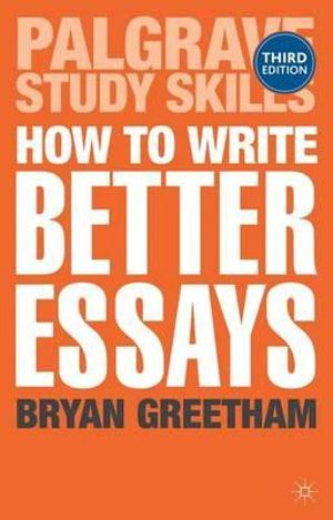 Cover of How to Write Better Essays