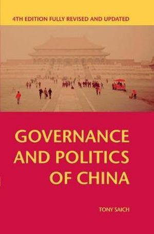 Cover of Governance and Politics of China