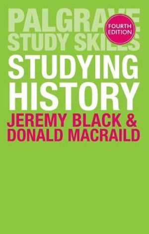 Cover of Studying History