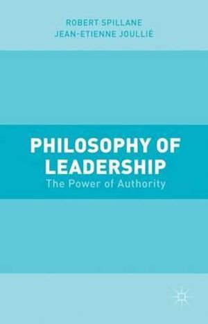Cover of Philosophy of Leadership