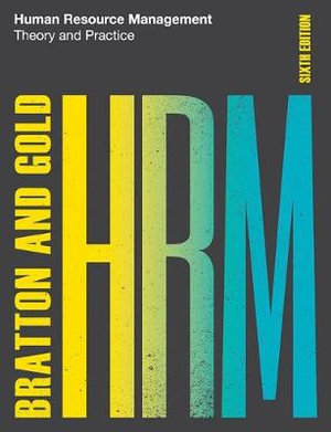 Cover of Human Resource Management, 6th edition