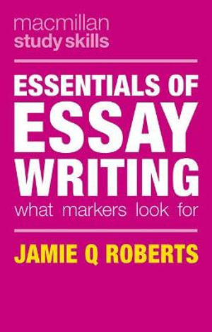 Cover of Essentials of Essay Writing