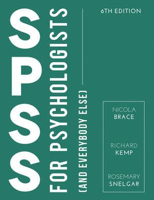 Cover of IBM SPSS for Psychologists