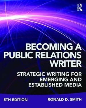 Cover of Becoming a Public Relations Writer