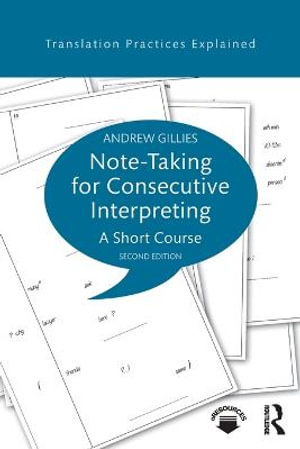 Cover of Note-taking for Consecutive Interpreting