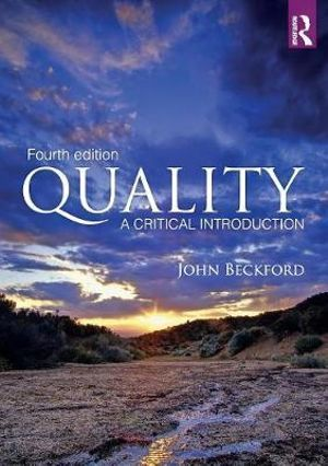 Cover of Quality