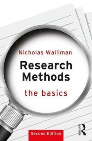 Cover of Research Methods: the Basics