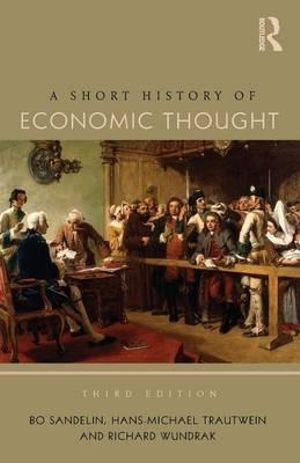 Cover of A Short History of Economic Thought