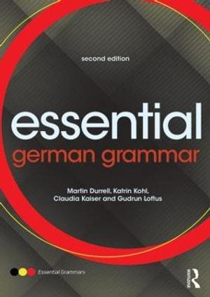 Cover of Essential German Grammar