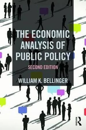 Cover of The Economic Analysis of Public Policy