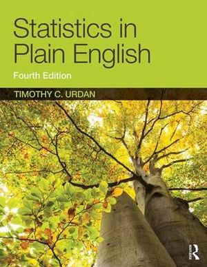 Cover of Statistics in Plain English, Fourth Edition