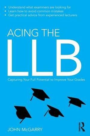 Cover of Acing the LLB