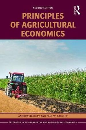 Cover of Principles of Agricultural Economics