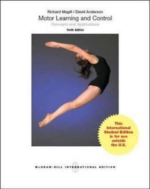 Cover of Motor Learning and Control