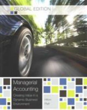 Cover of Managerial Accounting - Global Edition