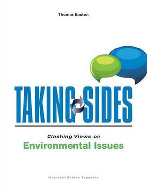 Cover of Taking Sides: Clashing Views on Environmental Issues, Expanded