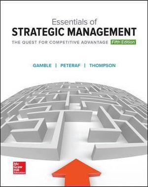 Cover of Essentials of Strategic Management