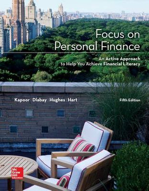 Cover of Loose Leaf Focus on Personal Finance with Connect