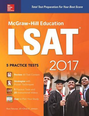 Cover of McGraw-Hill Education LSAT 2017