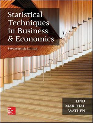 Cover of Statistical Techniques in Business and Economics