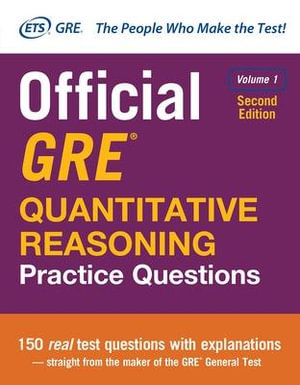 Cover of Official GRE Quantitative Reasoning Practice Questions