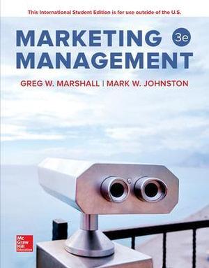 Cover of Marketing Management 3e
