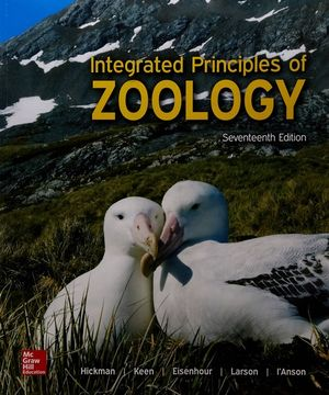 Cover of Bound for Integrated Principles of Zoology