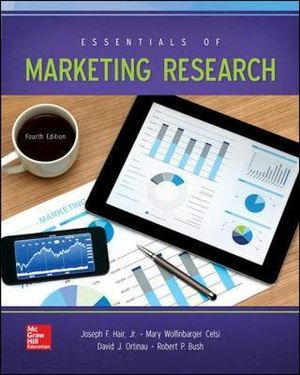 Cover of Essentials of Marketing Research 4E (Bound)