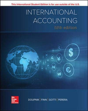 Cover of International Accounting 5e