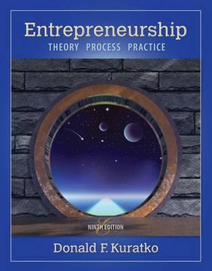 Cover of Entrepreneurship : Theory, Process, and Practice