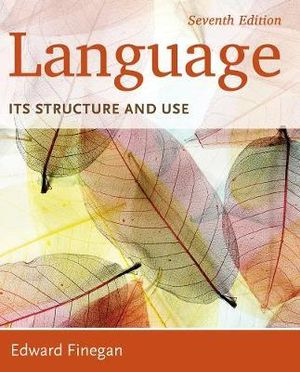 Cover of Language: Its Structure and Use