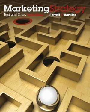 Cover of Marketing Strategy, Text and Cases