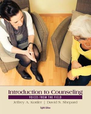 Cover of Introduction to Counseling: Voices from the Field