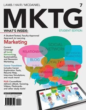 Cover of MKTG 7 (with CourseMate with Career Transitions Printed Access Card)