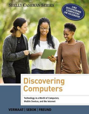 Cover of Discovering Computers 2014