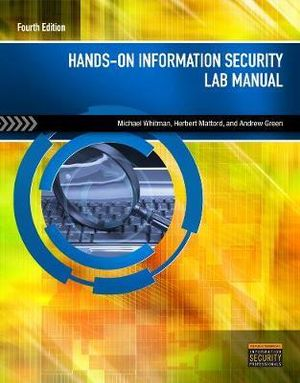 Cover of Hands-On Information Security Lab Manual