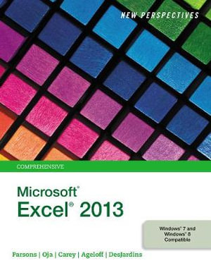 Cover of New Perspectives on Microsoft Excel 2013, Comprehensive