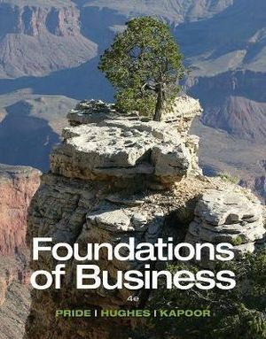 Cover of Foundations of Business