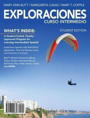 Cover of Exploraciones curso intermedio 4LTR press
