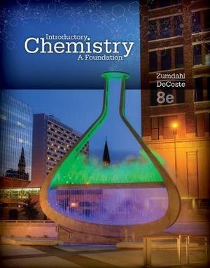 Cover of Introductory Chemistry : A Foundation