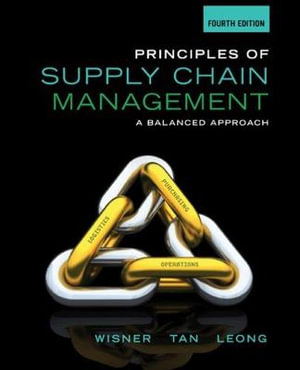 Cover of Principles of Supply Chain Management: A Balanced Approach