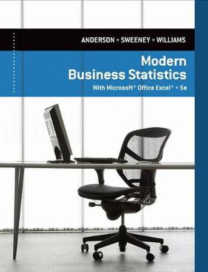 Cover of Modern Business Statistics with Microsoft Excel