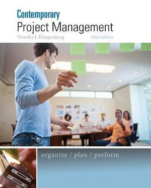 Cover of Comtemporary Project Management