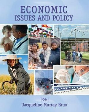 Cover of Economic Issues and Policy
