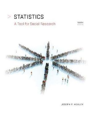 Cover of Statistics: A Tool for Social Research